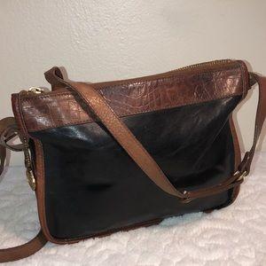 Brahmin Vintage Leather Crossbody